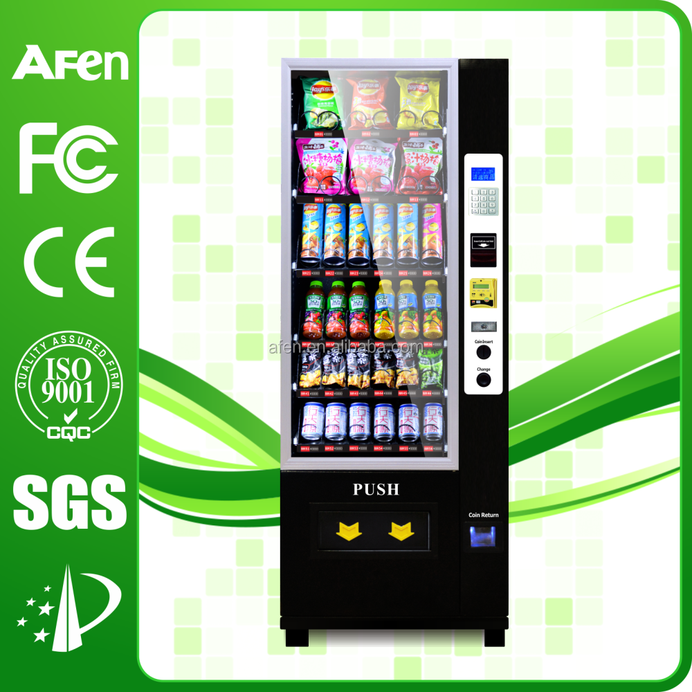 2017 Black white Small Cool Drink Vending Machine With Remote Control