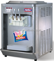 ICE CREAM MAKER Soft Serve Machine Makes Frozen Yogurt Frozen
