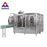 factory produce automatic cartridge soda water making filling machine