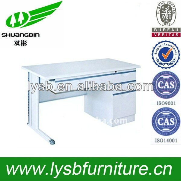 stainless steel computer desks office use furniture