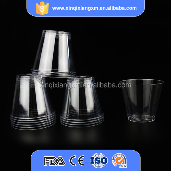Airline disposable 120ml fancy cheap plastic cup