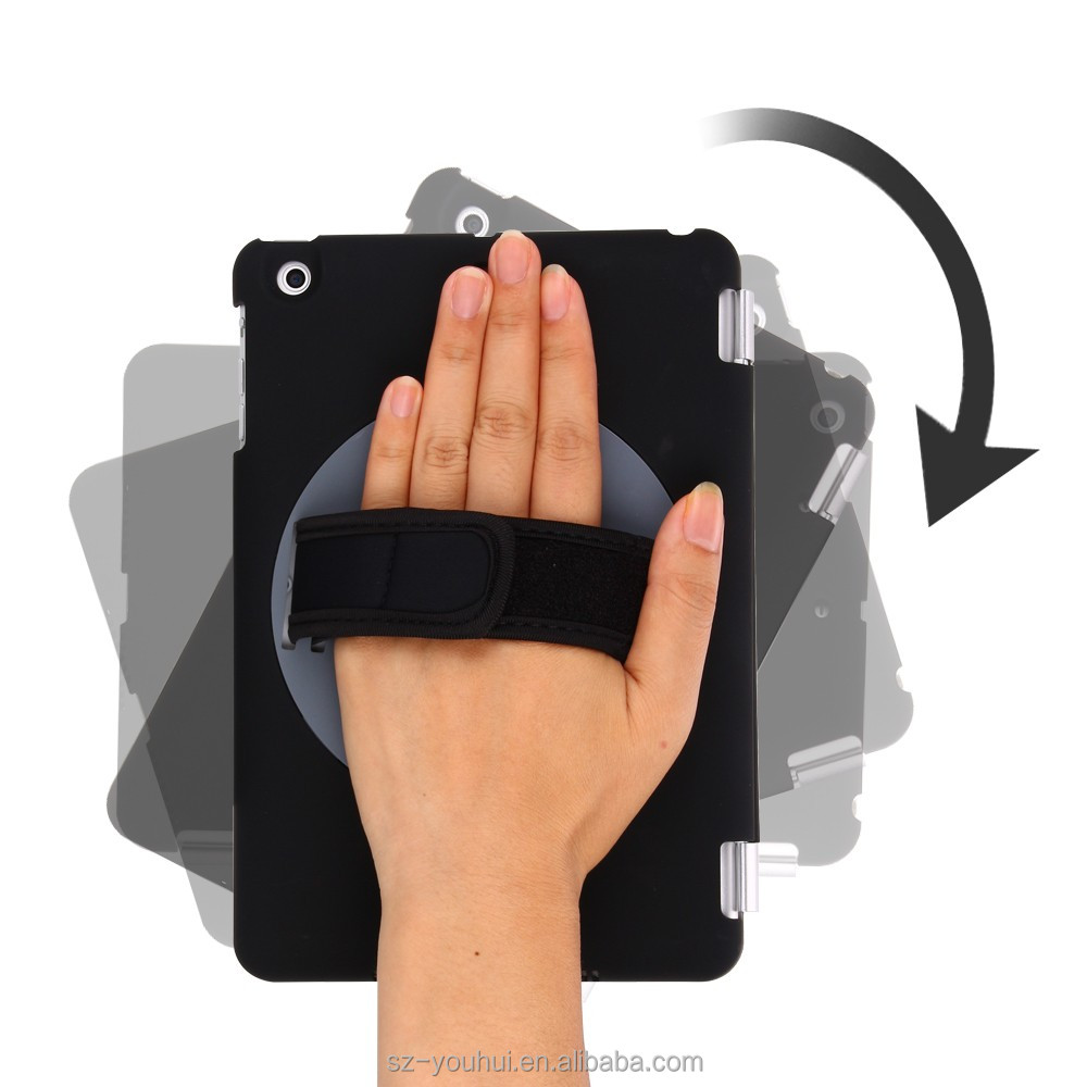 Factory price 360 swivel rotating cases for iPad mini2 3