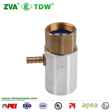 Brass Fuel Hose Coax Adapter Pipe Coupling Fittng for Vapour Recovery System