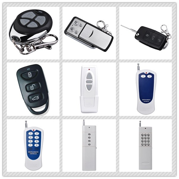 Competitive price rf wireless universal 2260 chip 433mhz remote control