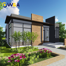 (WAS3505-110S)China Prefabricated Office Residential Villa Building House for Hotel