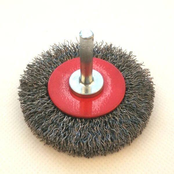 circular brushes with shank, diameter 70mm or 2 4/5""