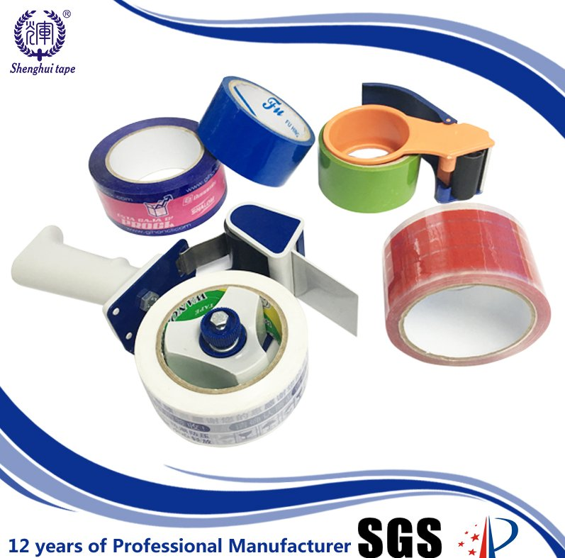China oem manufacturer 48mm x 100m bopp sealing custom logo packing tape