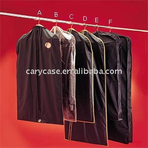 Polyester suit cover / gown bag / garment cover bag