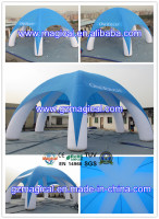 inflatable car helicopter cover/inflatable air roof/inflatable tent