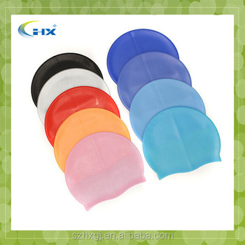 G-2015 Wholesale Customized Silicone Swimming Caps