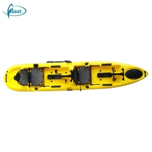 Professional sea kajaks double sit on top touring canoe 2 person kayak sale