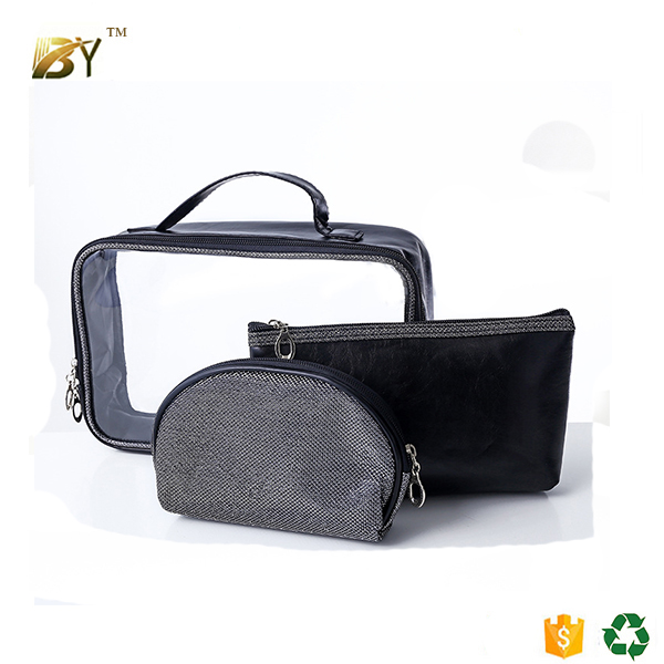 china supplier taobao Polyester Promotional Custom lady fabric polyester cosmetic bag