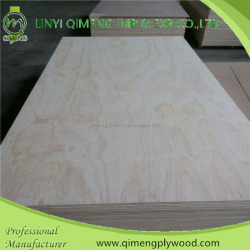 bintangor/okoume/pencil cedar/pa/pine veneer face commercial plywood with poplar or hardwood core