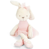TTY6902-4 Cute Stuffed Plush Rabbit Toy For Baby Girls Kids Soft Kawaii Bunny Toy Children Big Bedding Pillow