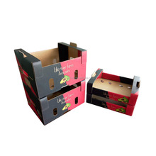 2018 Recycled paper package fruit box manufacturer
