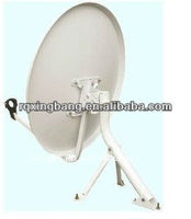 dish satellite TV antenna receiver/Ku band 60 cm satellite dish antenna
