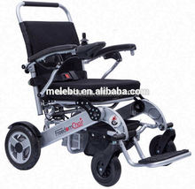 Foldable Lightweight Electric Wheel chair for Disabled People with Top Quality Charge