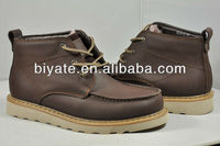 2013 NEW DESIGN Genuine Leather material men casual shoes