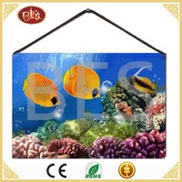 animate fish canvas wrap picture