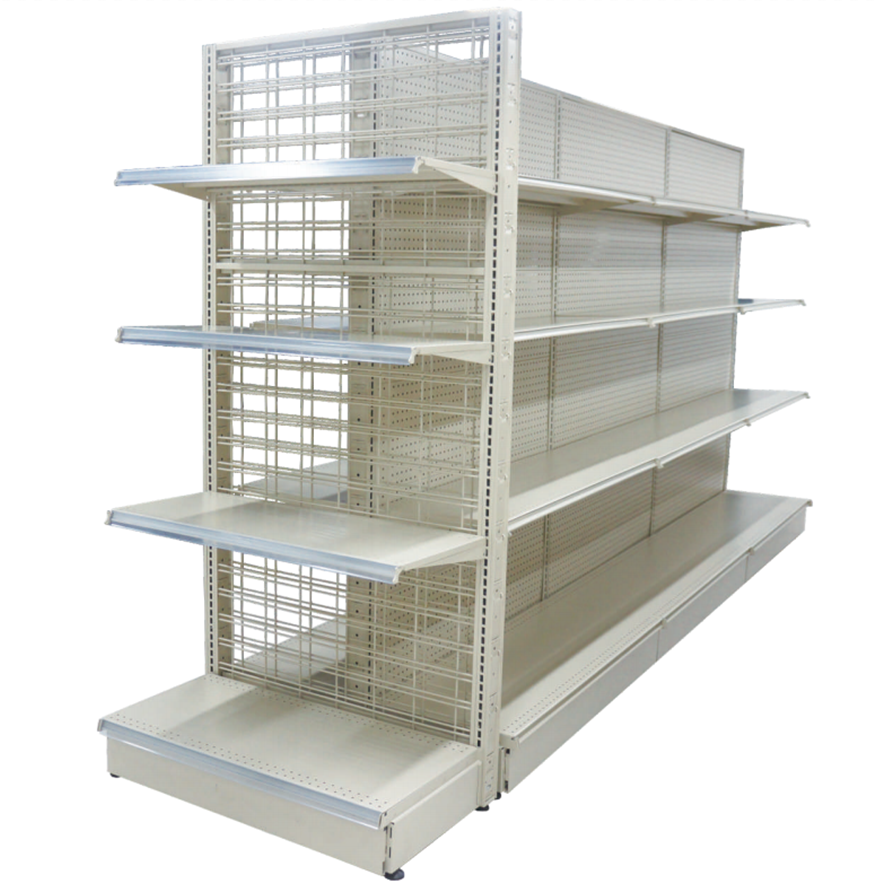 Factory price supermarket display gondola equipment steel metal <strong>rack</strong> store shelves