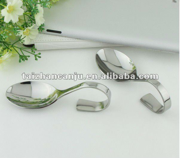 stainless steel seafood stainless steel spoon