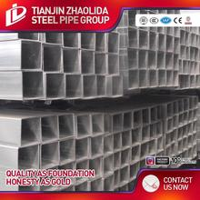 Furniture use building material q195\/q235 erw welded pre galvanized square structure steel pipe\/tube