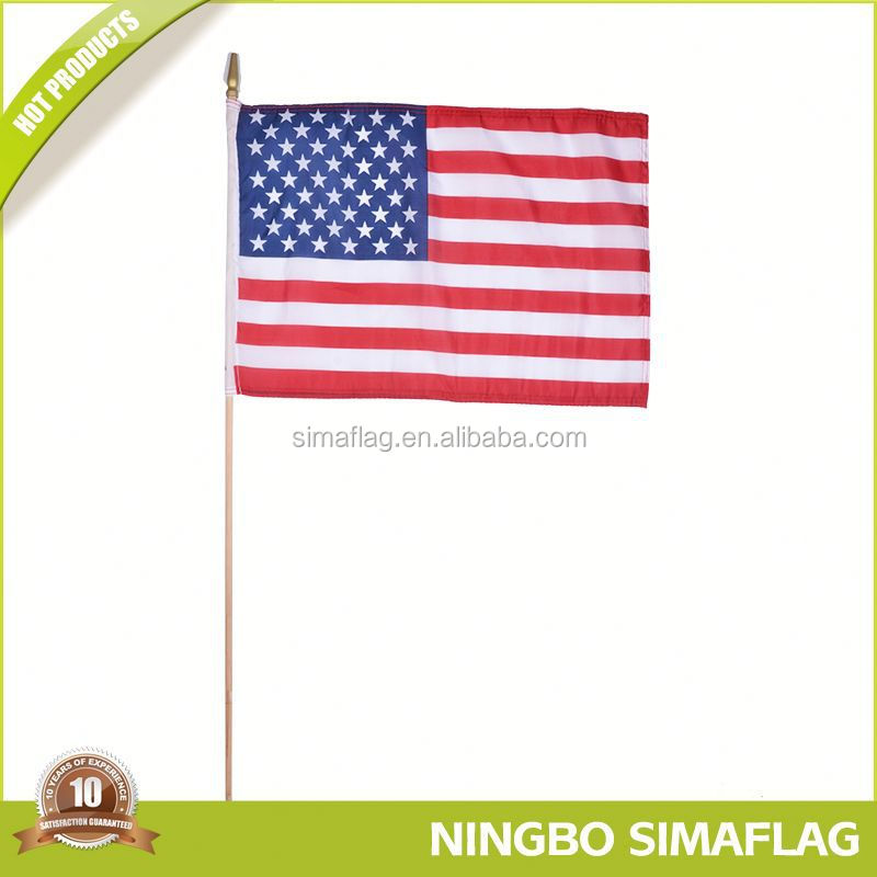 With quality warrantee factory directly north carolina us state hand flag sport flag