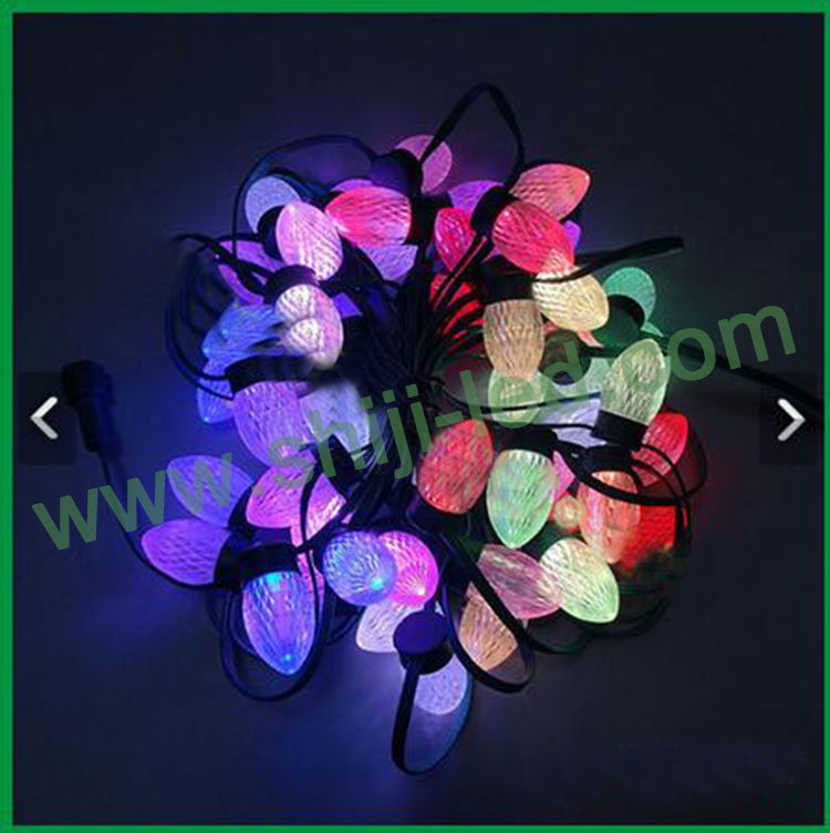 DC12v for christmas tree similar ball shape led outside christmas light