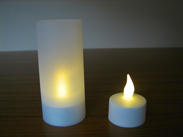 Modern and High quality led home decoration candle for party, ornament and etc