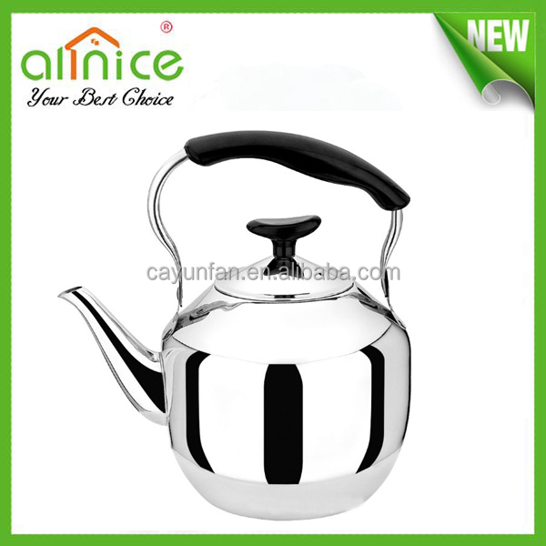 Lucky Stainless steel induction tea pot/boiler water/indian water pot/2.0Lwater kettle