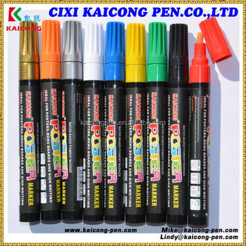 iPOSCA Water-based Paint Marker from Decoink, the leader in permanent markers.