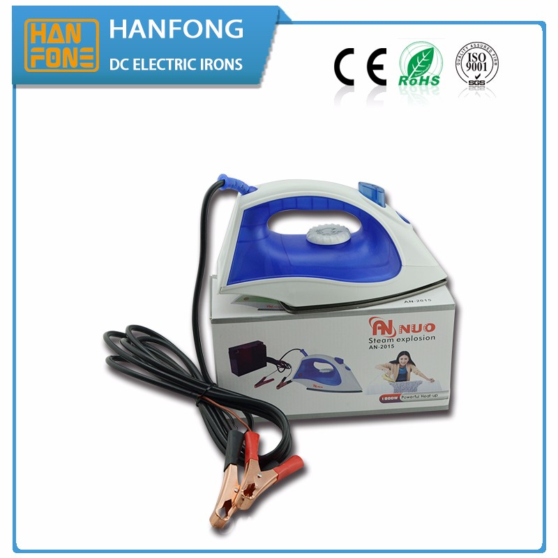 Solar power DC soldering iron feather flat 12v electric iron