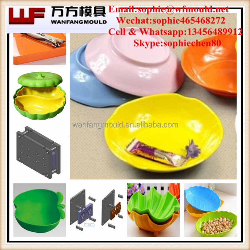 china supplier production Melamine dish mould/OEM Custom household commodity Melamine dish mold made in Taizhou