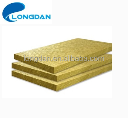 High Quality 910*605mm Non-asbestos 25mm Fireproof Marine Rock Wool for Bulkhead