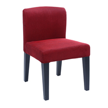 good quality low back fabric dining chairs