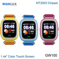 Wonlex MTK2503 Chip gps smart watch for kids /gps watch mobile sim card gps with SOS