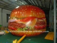 inflatable advertisign burger, Burger King,