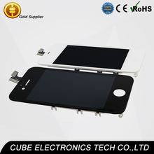 OEM original mobile phone repair parts for iphone 4s screen, lcd for iphone 4s lcd digitizer assembly, accept PayPal lcd