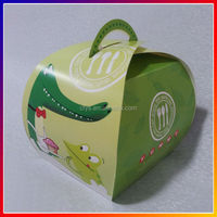 customize cup cake box paper packing box