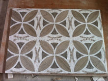 wholesales rectangle marble floor medallions patterns