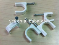 """A"" Wire Nail Cable clip plastic"