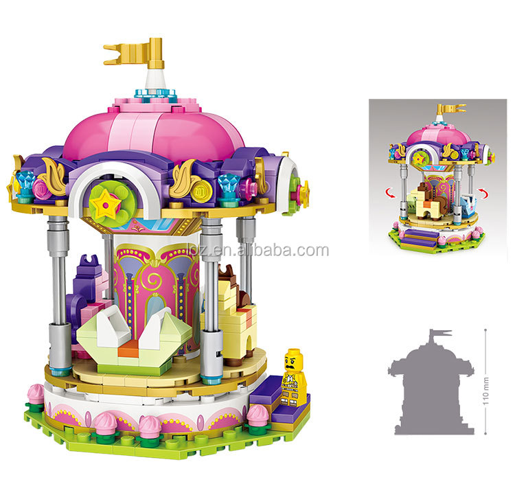 kids toys 2018 educational toys 6 years Merry go round construction toys