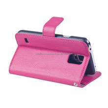 wholesale cell phone case for samsung galaxy s5,wallet case with stand function