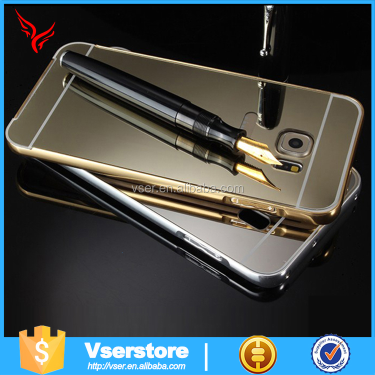 Luxury aluminum fancy ultra-thin mirror metal case cover for samsung galaxy s3