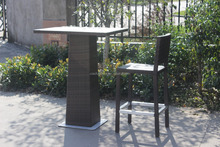 Rattan Garden Furniture at Leisure bar stools