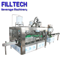 Energy saving glass bottle juice beverage manufacturing equipment