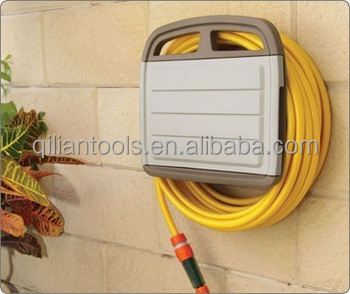 Garden Hose Hanger with Storage