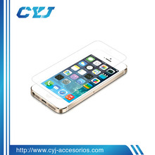 2014 cell phone accessory for iphone 6 9h tempered glass screen protector