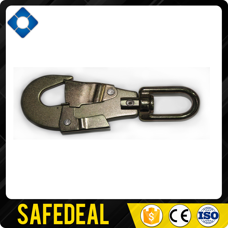 Double Gate Auto Lock Steel Swivel Snap Hook