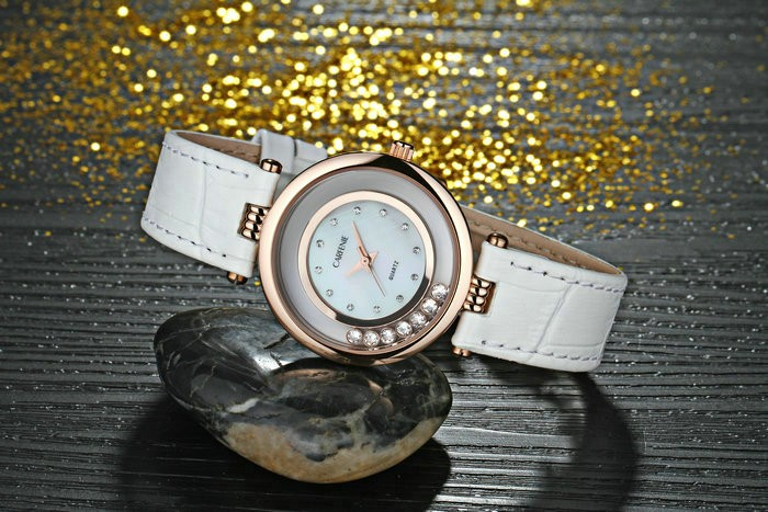 Japan movement water resistant fashion lady watch